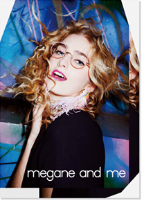 megane and me POSTER & LOOK BOOK 2016